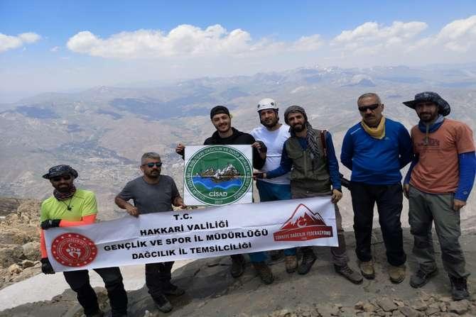Sümbül dağına 2020 yılı tırmanışı yapıldı galerisi resim 1