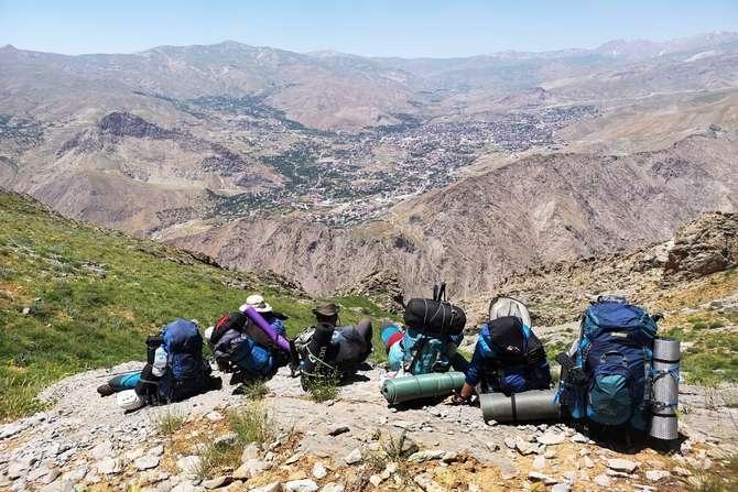 Sümbül dağına 2020 yılı tırmanışı yapıldı galerisi resim 4