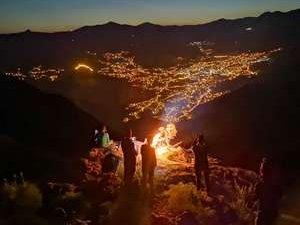 Sümbül dağına 2020 yılı tırmanışı yapıldı