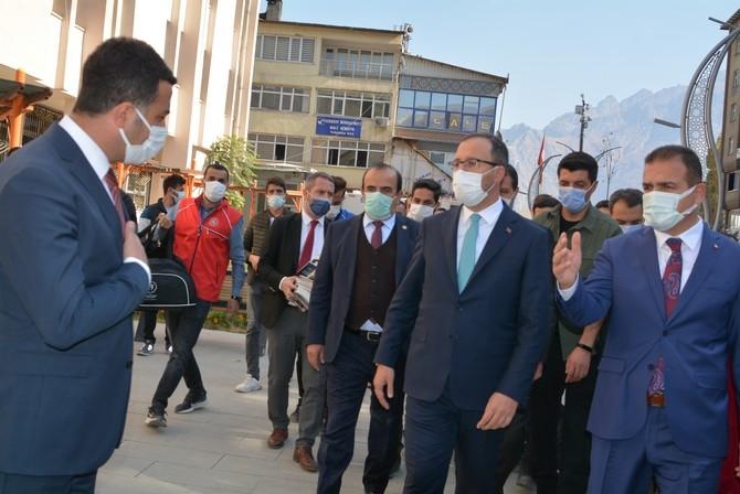 Bakan Kasapoğlu'nun Hakkari ziyareti galerisi resim 18