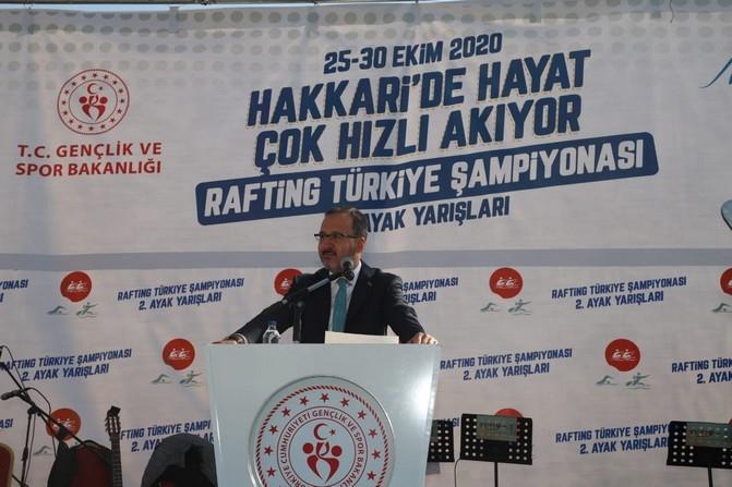 Bakan Kasapoğlu'nun Hakkari ziyareti galerisi resim 25