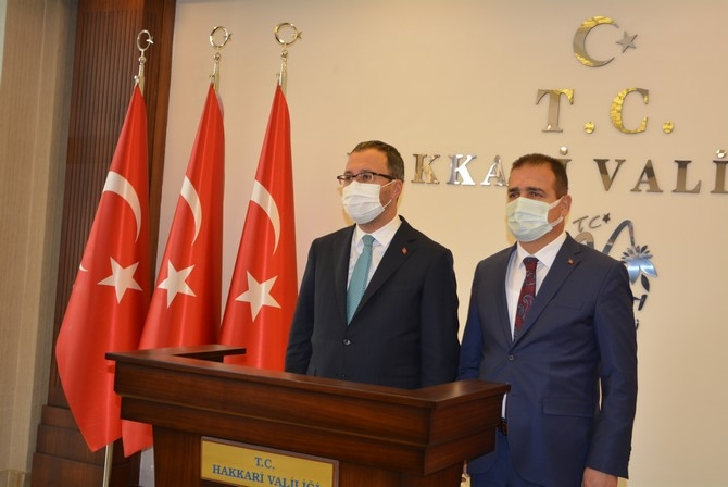 Bakan Kasapoğlu'nun Hakkari ziyareti galerisi resim 32