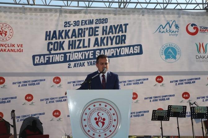 Bakan Kasapoğlu'nun Hakkari ziyareti galerisi resim 40