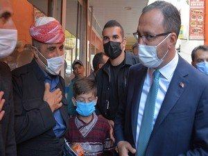 Bakan Kasapoğlu'nun Hakkari ziyareti