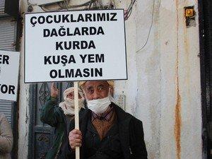 HDP önünde oturma eylemi