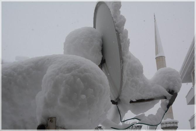 Hakkari'de kar manzaraları galerisi resim 1