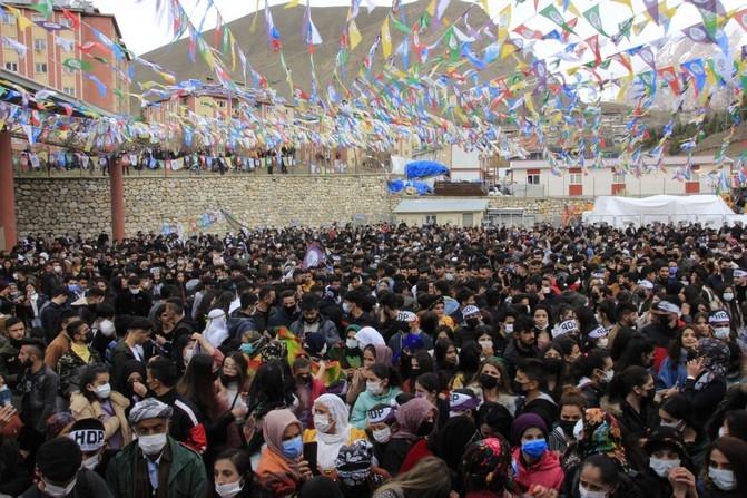 Hakkari HDP Nevruz 2021 galerisi resim 1