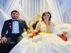 Canan ve Adem çiftine görkemli düğün