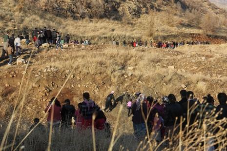 Hatso halkla sınıra yürüdü galerisi resim 13