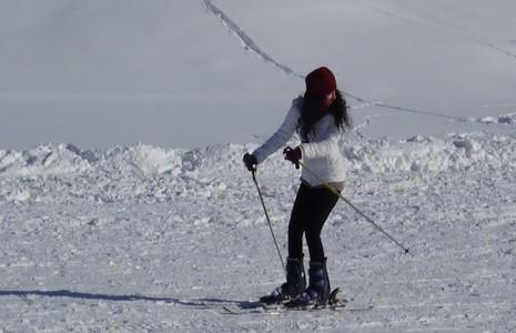 Kayak merkezi halaylarla açıldı galerisi resim 21