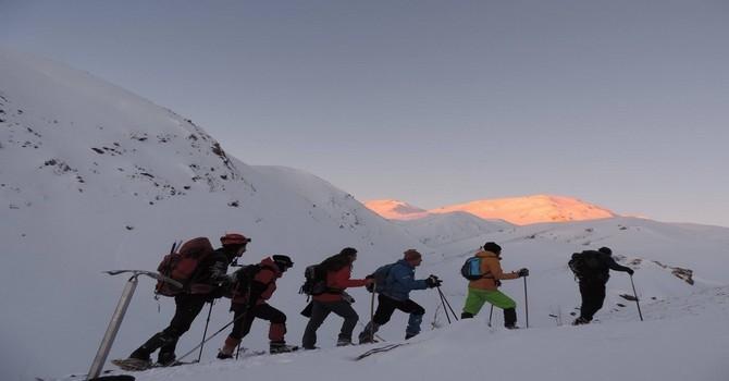 Kandil Dağına kış tırmanışı galerisi resim 1