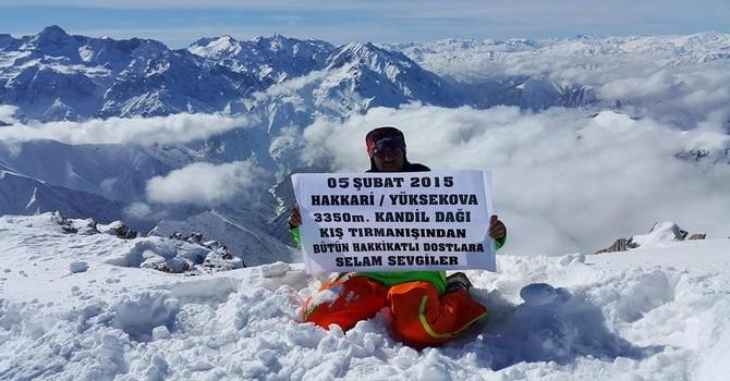 Kandil Dağına kış tırmanışı galerisi resim 16