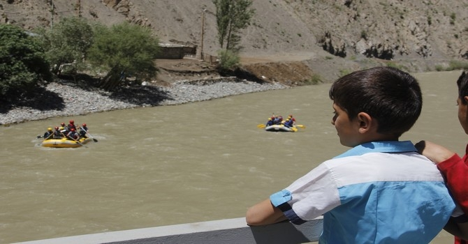 Hakkari'de rafting heyecanı galerisi resim 4