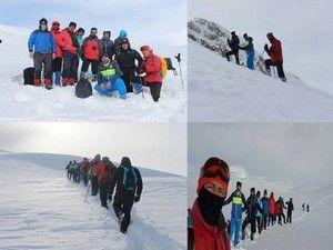 Mehed dağı kış tırmanışı