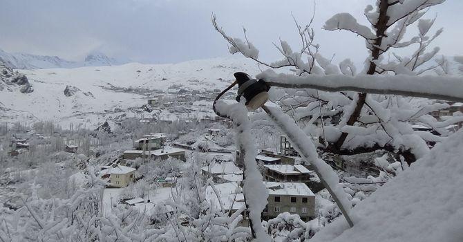 Hakkari'den kar manzaraları galerisi resim 1
