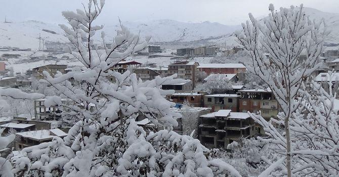 Hakkari'den kar manzaraları galerisi resim 2
