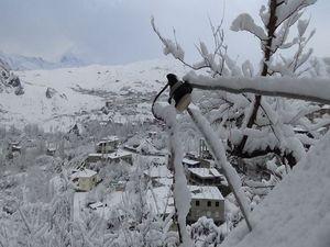 Hakkari'den kar manzaraları