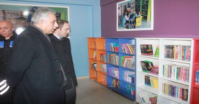 Polisten kütüphane açılışı galerisi resim 7