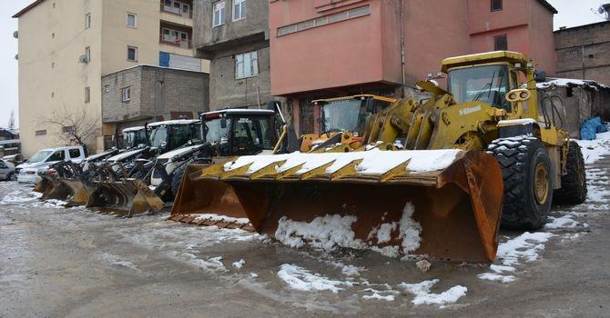 Belediye karla mücadele filosunu güçlendi! galerisi resim 7