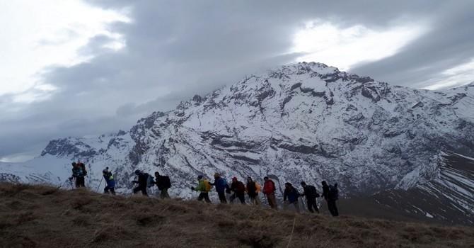 Geleneksel Vatan tepesi tırmanışı yapıldı galerisi resim 15