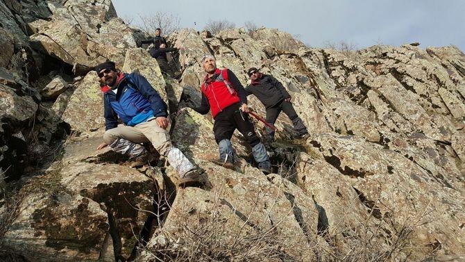 Abdurrezzak dağına kış tırmanışı yapıldı galerisi resim 13
