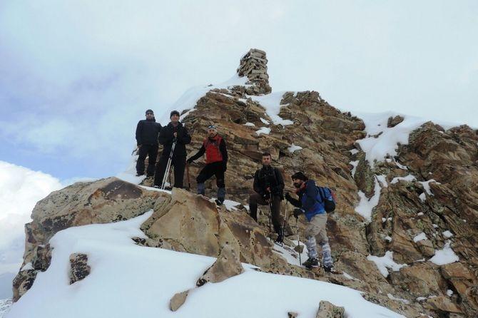 Abdurrezzak dağına kış tırmanışı yapıldı galerisi resim 3