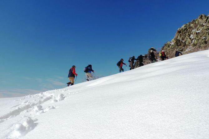Abdurrezzak dağına kış tırmanışı yapıldı galerisi resim 6
