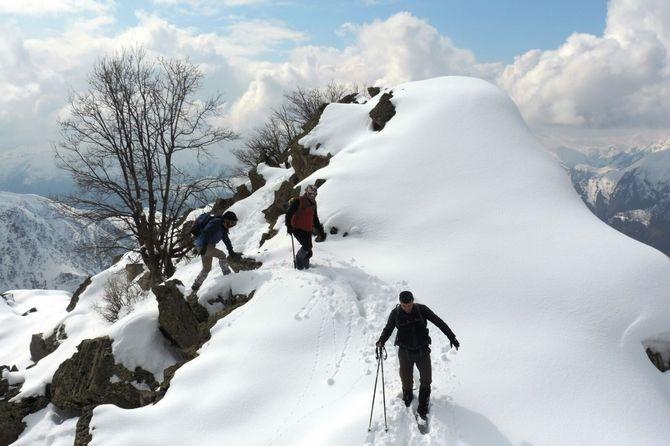 Abdurrezzak dağına kış tırmanışı yapıldı galerisi resim 8