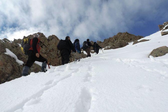Abdurrezzak dağına kış tırmanışı yapıldı galerisi resim 9
