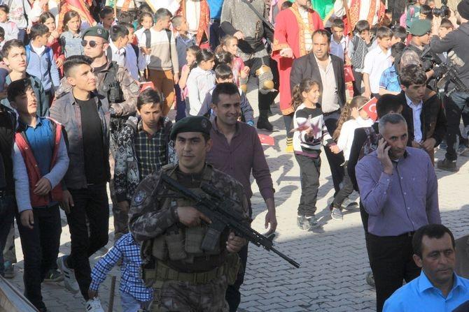 Çukurca'da binler yürüdü galerisi resim 18