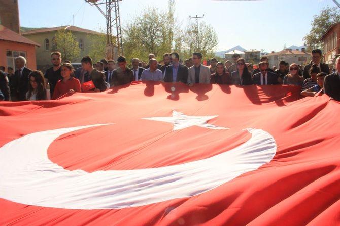 Çukurca'da binler yürüdü galerisi resim 3