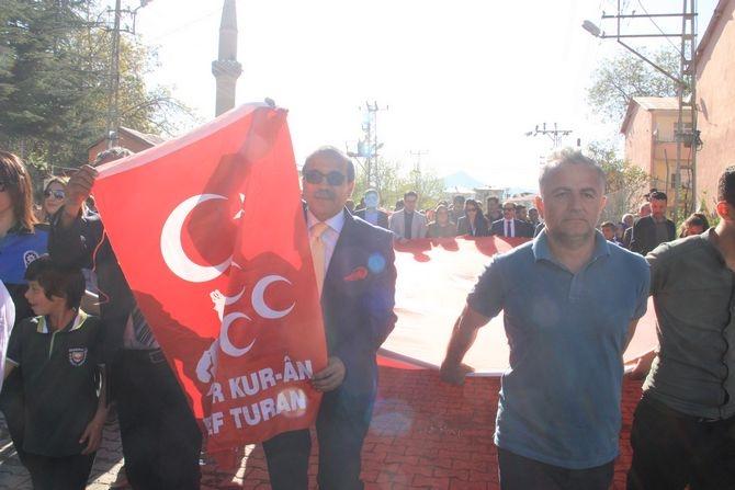 Çukurca'da binler yürüdü galerisi resim 4