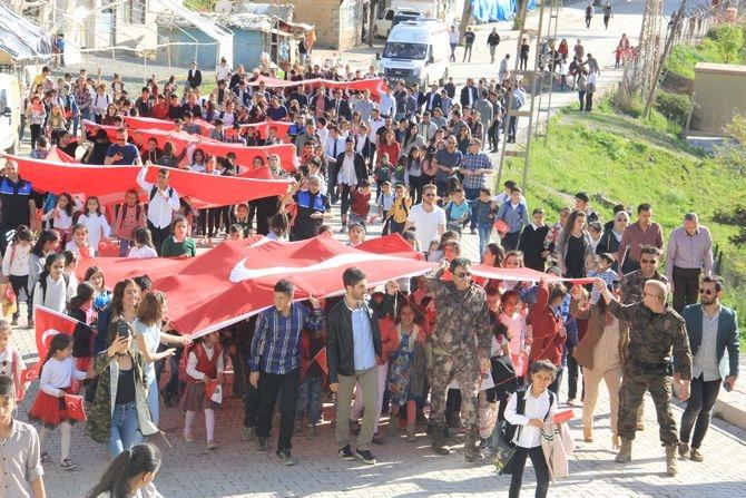 Çukurca'da binler yürüdü galerisi resim 8