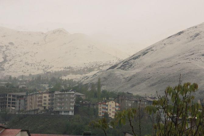 Nisan ayında kar sürprizi galerisi resim 5