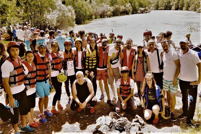 Hakkari rafting'de Türkiye üçüncüsü galerisi resim 10