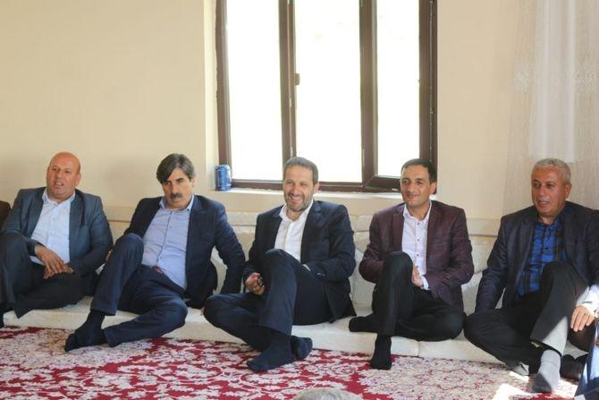 AK  Parti heyeti ziyaretlerini sürdürüyor galerisi resim 1