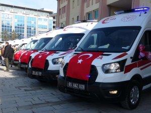 Van'ın ambulans filosu güçleniyor