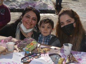 Hakkari'de anne Çocuk sanat etkinliği düzenlendi