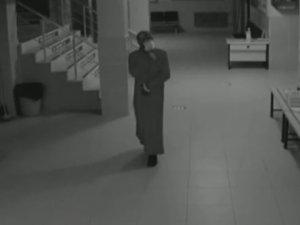 Kadın kıyafeti ile hırsızlık