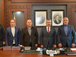 Genel Başkan Er'den Van Emniyet Müdürüne ziyaret