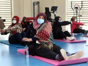 Pandemi sürecinde kadınlar spora yöneldi