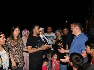 Golazüryan'da Vali Akbıyık'a sevgi seli