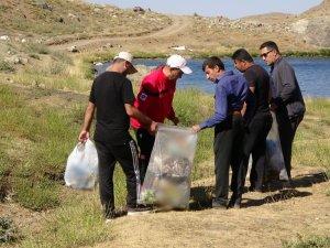 Sat Buzul Göllerindeki çöpler toplandı