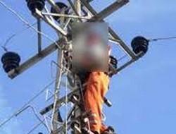 Tedaş görevlisini elektrik çarptı