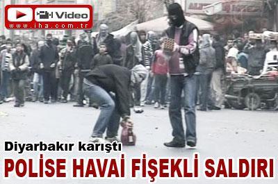 DİYARBAKIR/DA OLAYLAR BAŞLADI