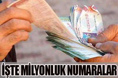 Milli Piyango çekilişi yapıldı