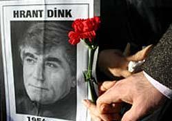 Gazeteci Hrant Dink anılıyor
