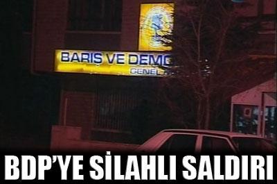 BDP GENEL MERKEZİ NE SALDIRI