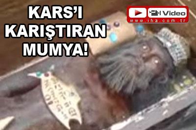 ALTIN TABUT KARS İLİNİ KARIŞTIRDI