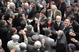 BDP GENEL BAŞKANI HAKKARİ'DE